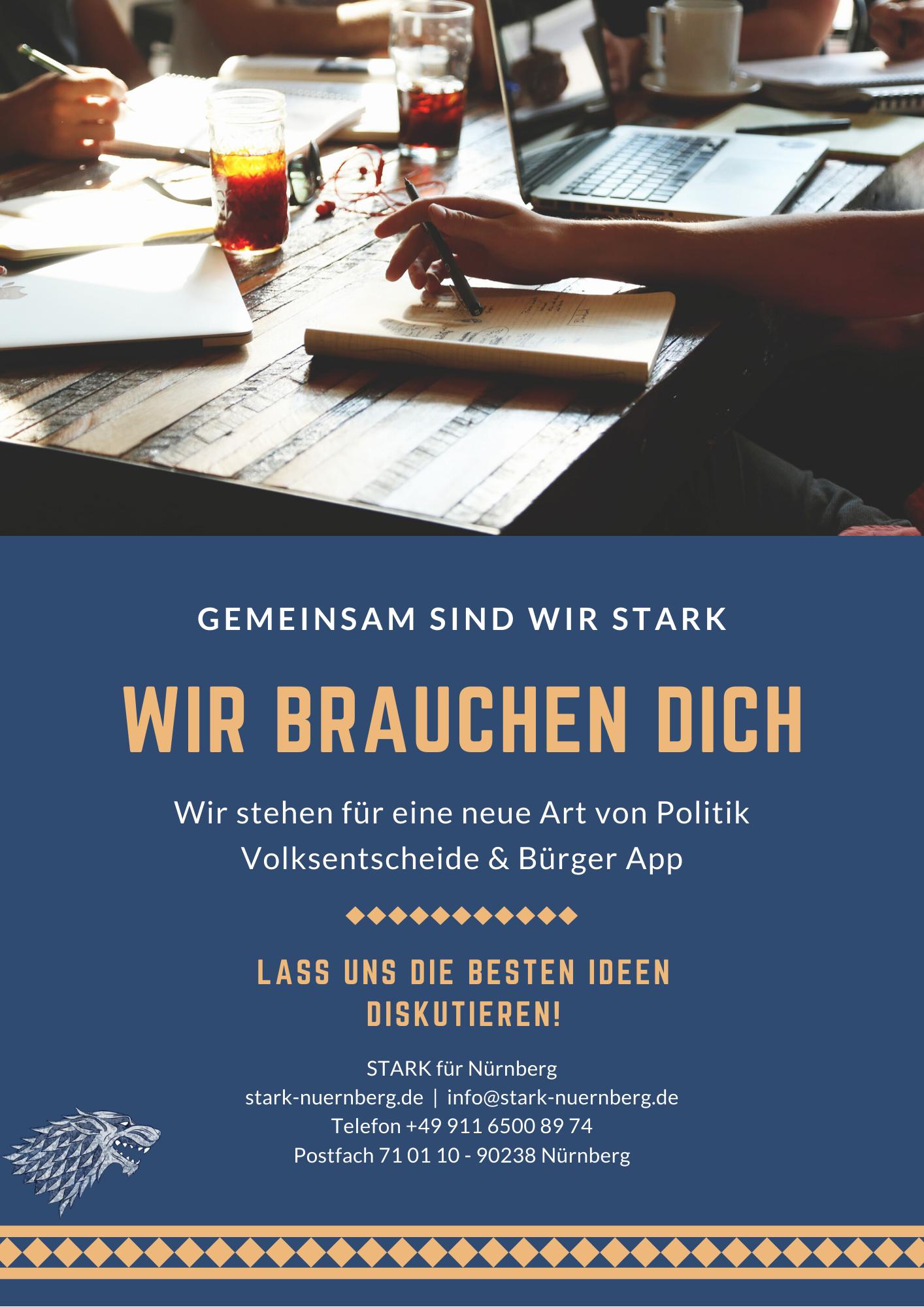 Gemeinsam-Stark-Nuernberg-Wahl-Stadt-Rat-Buergermeister 2020